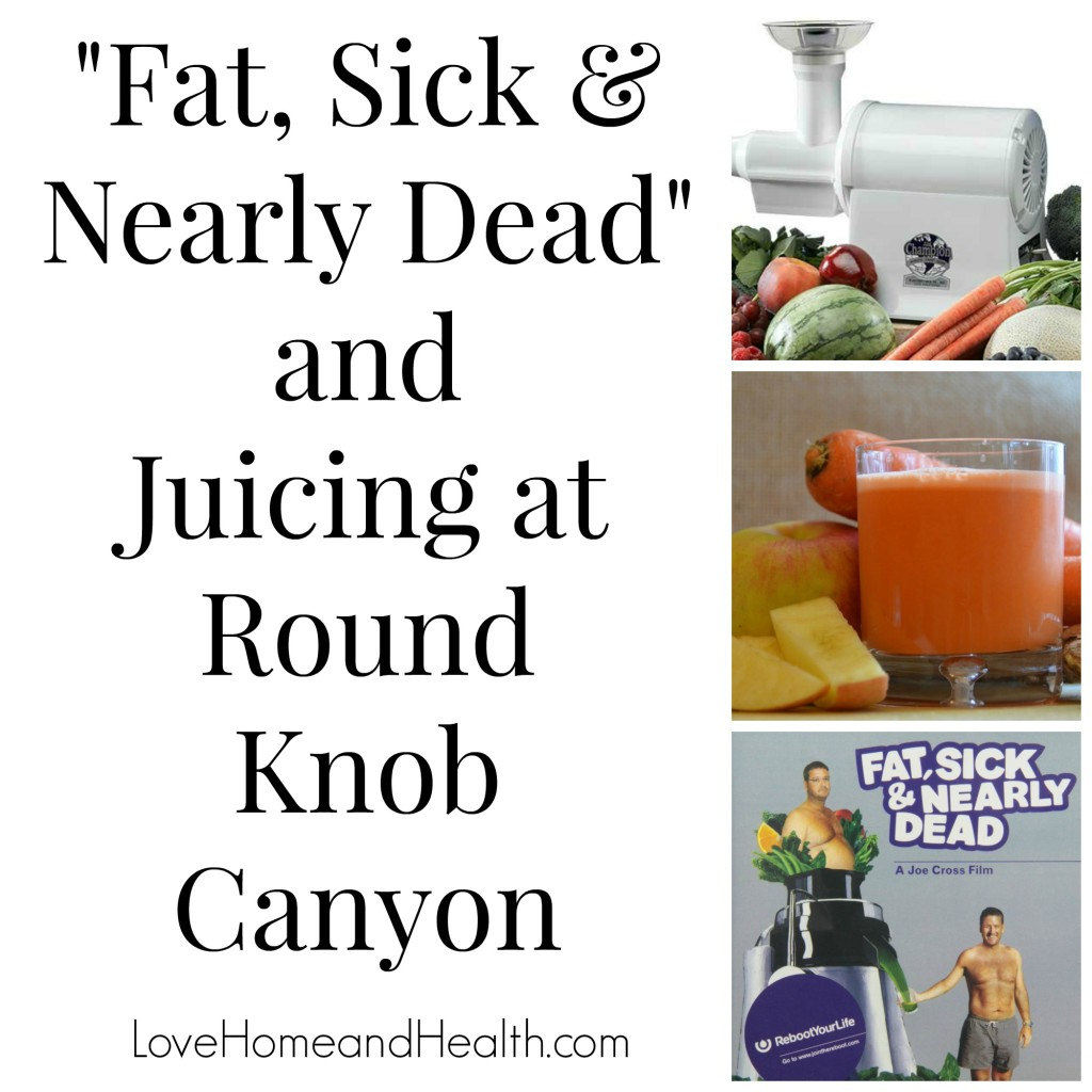 """Fat Sick and Nearly Dead and Juicing in Round Knob Canyon - love, home and health"""